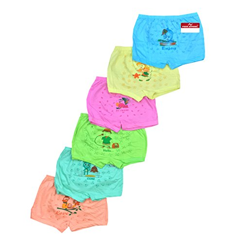 Pride Apparel Baby,Boy & Girl Briefs | Comfortable Multicolor Brief Combo for Boys, Girls(Pack of 6) (3 Months – 9 Years)