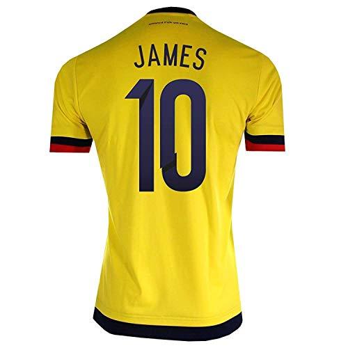adidas James # 10Colombia Casa Fútbol Jersey 2015