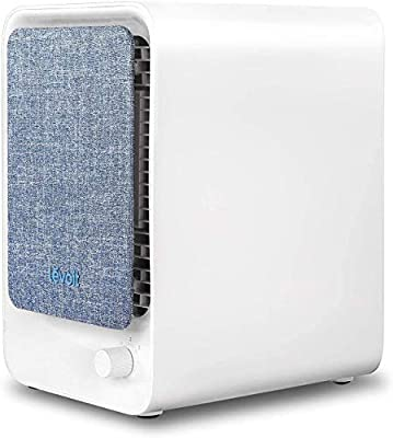 Levoit Air Purifier for Home with True HEPA Filter, Compact Desktop Air Cleaner for Smoker, Dust, Allergies, Pet, Pollen, Bacteria, Odours, 3 Speeds, Quiet Operation for Bedroom, Ozone-Free, LV-H126