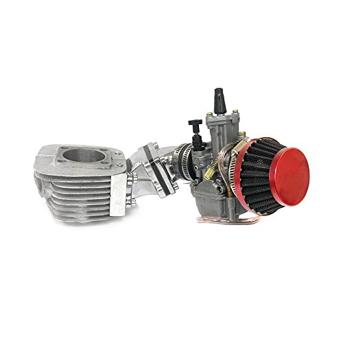 Dio Reed Valve Zeda Racing Cylinder and Carburetor Assembly - 66cc/80cc Gas Motorized Bike