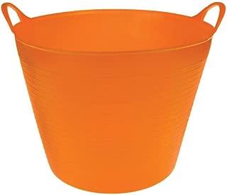 TubTrugs - Flexible Garden and Home Tubs (Orange, 7 Gallon)