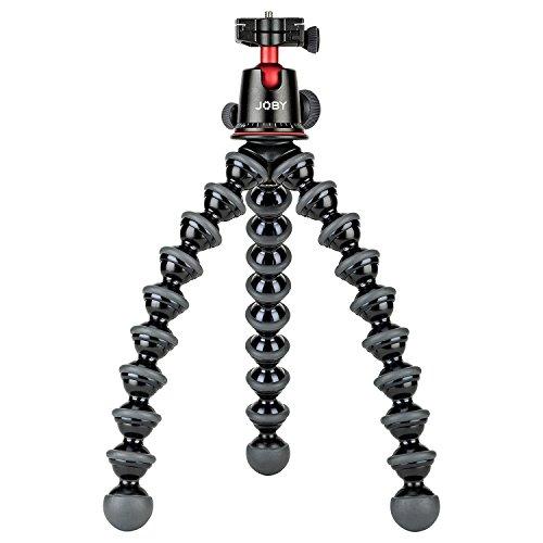 Joby Gorillapod 5K Kit. Profesional Trípode 5K soporte y con cabezal de 5K para cámaras DSLR o Cámara sin espejo con lente hasta 5K (kg). Negro/carbón