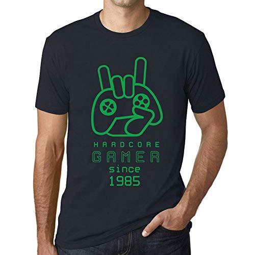 One in the City Hombre Camiseta Vintage T-Shirt Gráfico Hardcore Gamer Since 1985 Cumpleaños de 36 años Marine