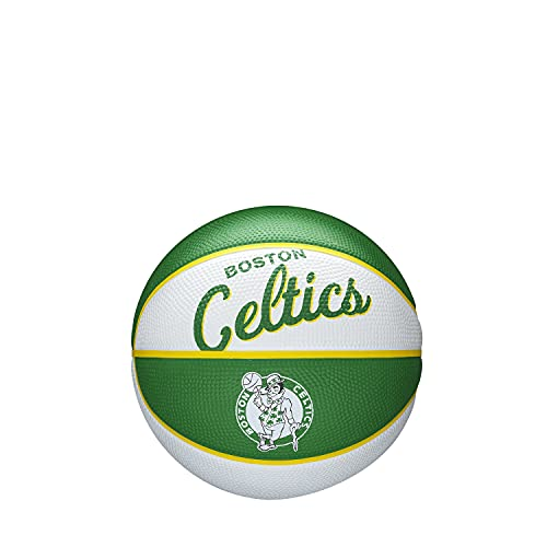 Wilson NBA Team Retro Mini Basketball - Boston Celtics