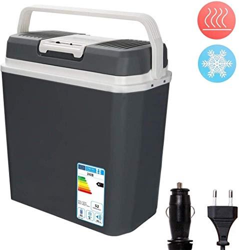 Zhipeng Refrigerador del Coche termoeléctricos 45 litros Caliente fría eléctrico portátil Nevera portátil Mini refrigerador 12/230 V Pesca Viajes de conducción al Aire Libre o en casa-32 L hsvbkwm