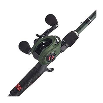 Abu Garcia Zata Baitcast Low Profile Reel and Fishing Rod Combo 7  - Medium Heavy - 1pc Green