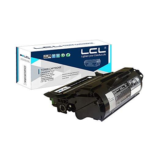 LCL Cartucce di Toner Rigenerate T650A11E T650A21E T650H11E T650H21E T650 T652 T654 25000 Pagine (1Nero) Sostituzione per Lexmark Laser Printers T650, T650n, T650dn, T650dtn, T652, T652n, T652dn
