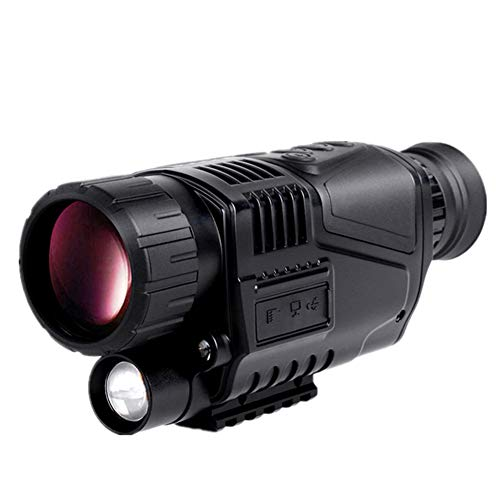 PBQWER High Definition Night Vision Monocular, High Definition Digital Camera for Day and Night Waterproof Monoculars Camping Bird Watching Best Gifts for Men