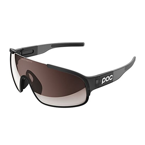 POC Crave Sonnenbrille, Uranium Black Translucent/Grey, ONE Size