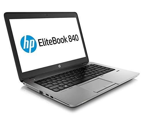 HP EliteBook 840 G2 - Ordenador portátil (14 Pulgadas, Intel Core i5 256 GB SSD, Disco Duro de 8 GB, Win 10 L3Z73UA) (Reacondicionado)
