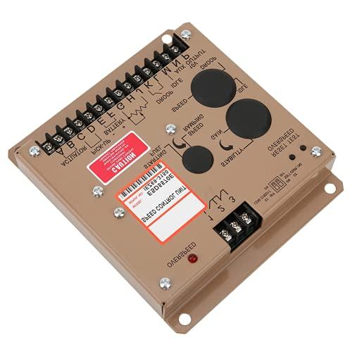 Piezas del grupo electrógeno, regulador de velocidad de alto rendimiento con 1 controlador de velocidad. 1 X Manual de usuario para personal técnico para grupo electrógeno para regulador de