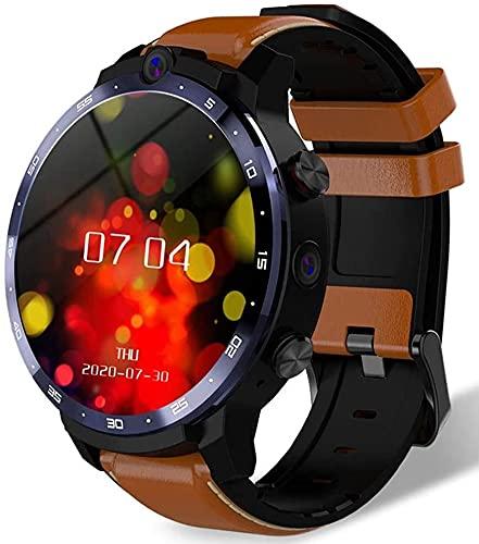 X&Z-XAOY Smart Watch- Mens Wristwatch Fitness Rastreador Watch SmartWatch Pulsera Android 10 CPU 4G 64GB LTE 4G Proyección Inalámbrica 900mAh Power Bank