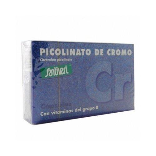 Picolinato Cromo 40 cápsulas de Santiveri