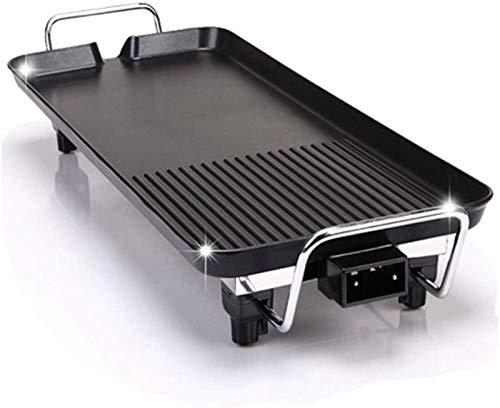 AQWESD Grill 68X29 cm Teppanyaki Grill Estufa eléctrica sólida Grande Sartén de...