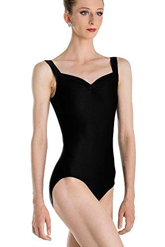 Wear Moi Faustine - Maillot para Mujer, Mujer, Color Negro, tamaño Medium
