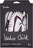 Fender Jimi Hendrix Voodoo Child Câble Spiralé Pour Instruments - 9.1m - Blanc