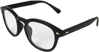 BOZEVON Women Glasses - Oval Frame Classic Vintage Clear Lenses Non Prescription Retro Glasses Men Women Fashion Eyewear