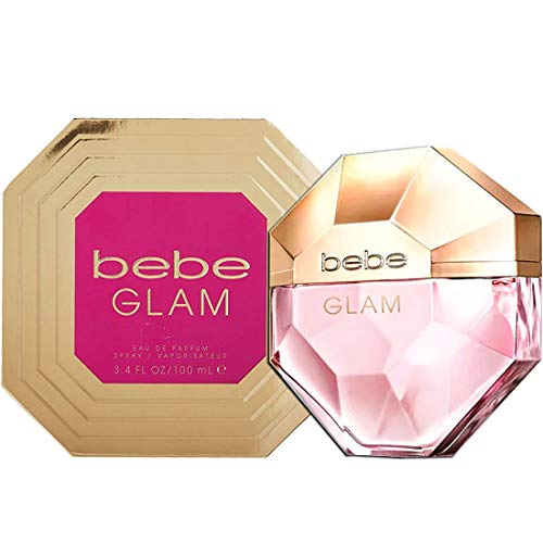 Bebe Glam by Bebe Eau De Parfum Spray 3.4 oz for Women by bebe