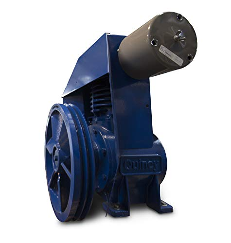 Quincy QRDS-5 Oil-less Reciprocating Air Compressor - 5HP, Base Mounted