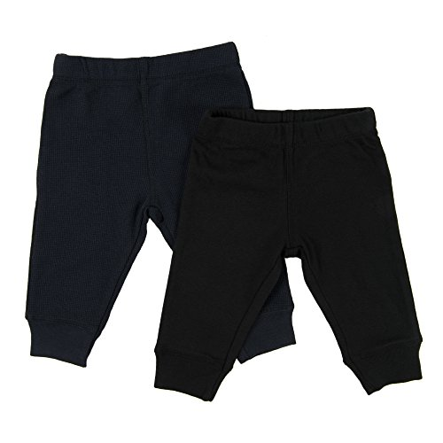 Leveret Baby Legging 2 Pack Navy & Black 18 Months