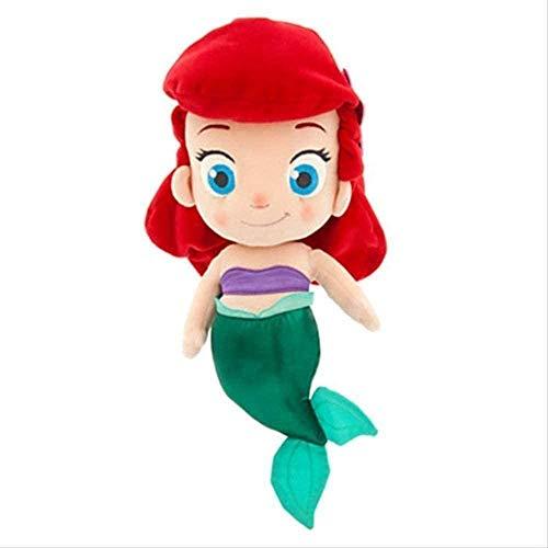 N-T Sirenita Juguetes de Peluche 30 cm Reina Princesa Regalo para niños muñeca de Trapo muñeca Mascota Juguete decoración del hogar Regalos de cumpleaños