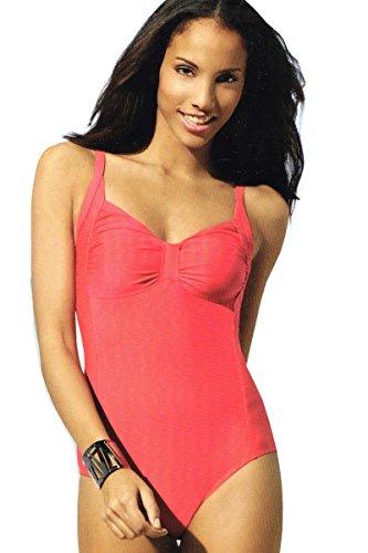 Esmara® Modischer Badeanzug (38, Rosa)