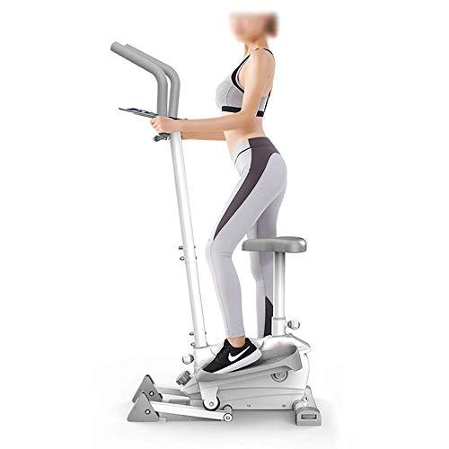 HXCD Elliptische Maschine, Home Mute Running Stepper, magnetische Steuerung Ofenrohr Abnehmen elliptisches Instrument, 2-in-1 elliptischer Crosstrainer, für Zuhause / Fitnessstudio