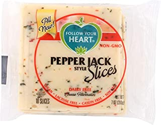 Follow Your Heart (NOT A CASE) Pepper Jack Style Cheese Alternative Slices