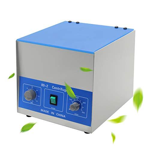 NEWTRY Electric Centrifuge Machine Desktop Lab Benchtop Centrifuges with Timer and Speed Control for Lab Medical Practice 4000rpm Capacity 20ml×12 Tubes 110V/220V 80-2 (110VUSPlug)