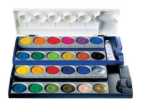 Pelikan 24 Color Opaque Watercolor Set by Pelikan