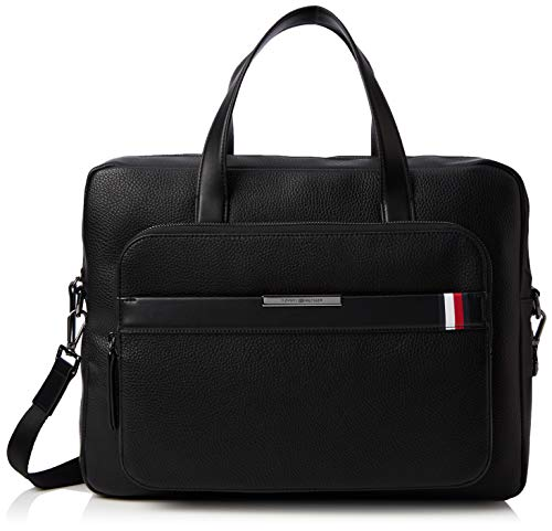 Tommy Hilfiger Th Downtown Computer Bag, Sacs portés...