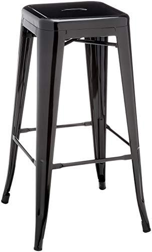 Kit Closet sillas y taburetes inductrial, Metal, Negro