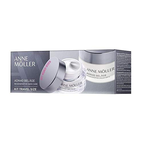 Anne Möller Anne Moller Adn40 Belage Set Travel Regenerating Cream Spf15 50 Ml+ Mini 15 Ml - 50 ml