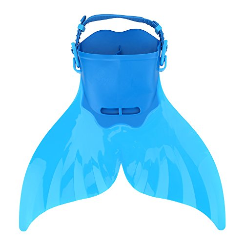 Aleta de natación Monofin Flipper Kid Aleta de natación Ajustable para Entrenamiento Buceo Aletas de Buceo Snorkel