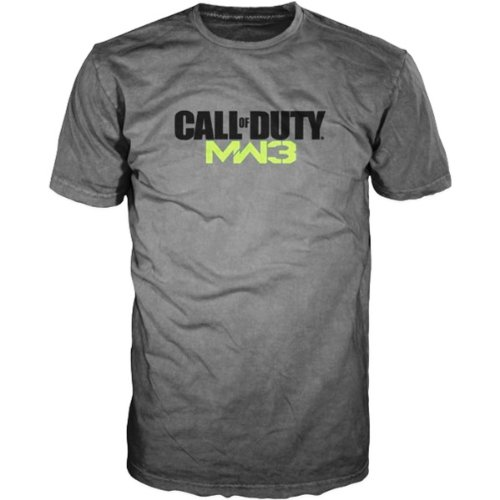 T-Shirt Call of Duty - MW3 Logo [grau, L]
