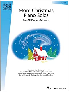 More Christmas Piano Solos, Level 1: For All Piano Methods