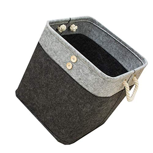 Buy Discount LHQ-HQ Dirty Hamper Storage Bucket, Fabric Cotton and Linen Hamper, Collapsible Laundry...