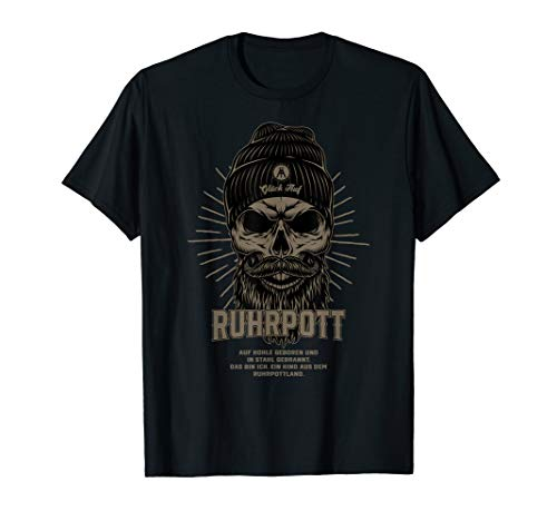 Ruhrpott Shirt - Hipster skull
