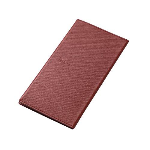薄い長財布 abrAsus (アブラサス) ボルドー