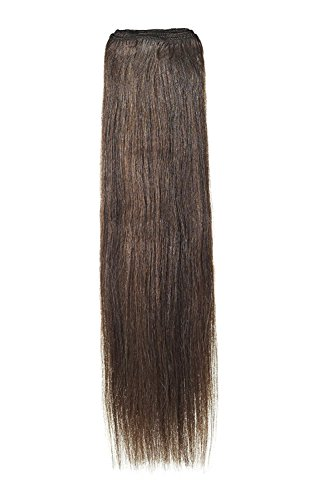 American Dream Remy 100% cheveux humains 35,6 cm soyeuse droite Trame Couleur 2/4/6 – Brun Foncé/brun Châtain/brun foncé cendré