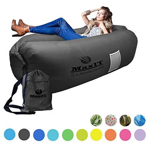 MAXIT Inflatable Hammock Sofa | Pool Floating Air Lounger Bed for Adults or Kids, Perfect for...