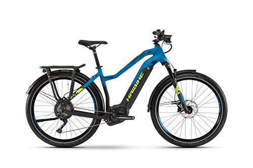 HAIBIKE Sduro Trekking 9.0 Damen Pedelec E-Bike Fahrrad schwarz/blau/gelb 2019: Größe: L