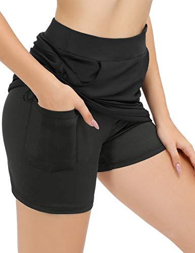 Pantaloncini sportivi donna con tasche
