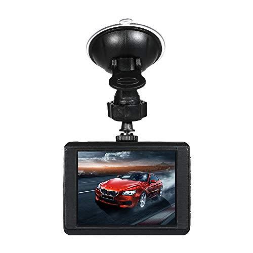 Fesjoy Grabadora de conducción, 1080P Driving Recorder Car DVR Dash Camera 170 ° Gran Angular Grabación Full HD Visión Nocturna Gran Angular Dashcam Video Registrar