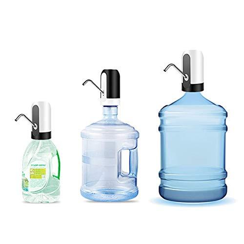 SZXCX Elektrischer Wasserspender Tragbarer Gallonen-Trinkflaschenschalter Intelligente kabellose Wasserpumpe Wasseraufbereitungsgeräte - Schwarz