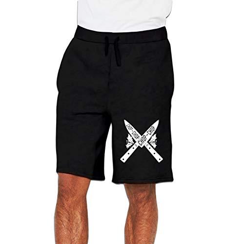 YUERF Skull-Chef Cooking Sweatpants Casual Athletics Pants - Elastic Waist Jogger Pants for Men & Boys 3X-Large Black
