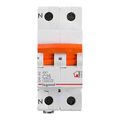 Legrand 419928E Interruptor Magneto Térmico, Blanco