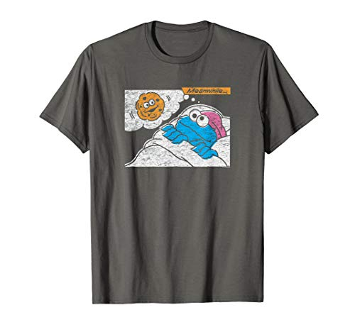 Sesame Street Cookie Monster Meanwhile T-Shirt