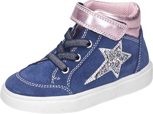 Richter Kinderschuhe Flora Sneaker, Nautical/Candy/Silve, 30 EU