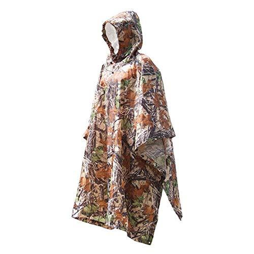 ddmlj Faltbarer Gummiregenmantel Wasserdicht Gedruckter Regenmantel Freie Größe Frauen Camping Regenbekleidung Regenanzug Erwachsener Outdoor Wandern Poncho@1